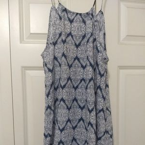 MILLIBON USA Boho Chic Dual-Print Dress